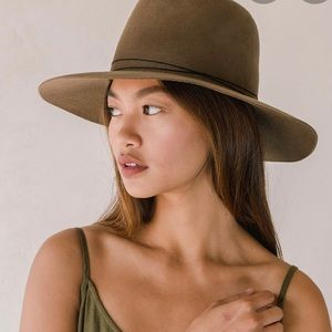 Janessa Leone wool hat Billie